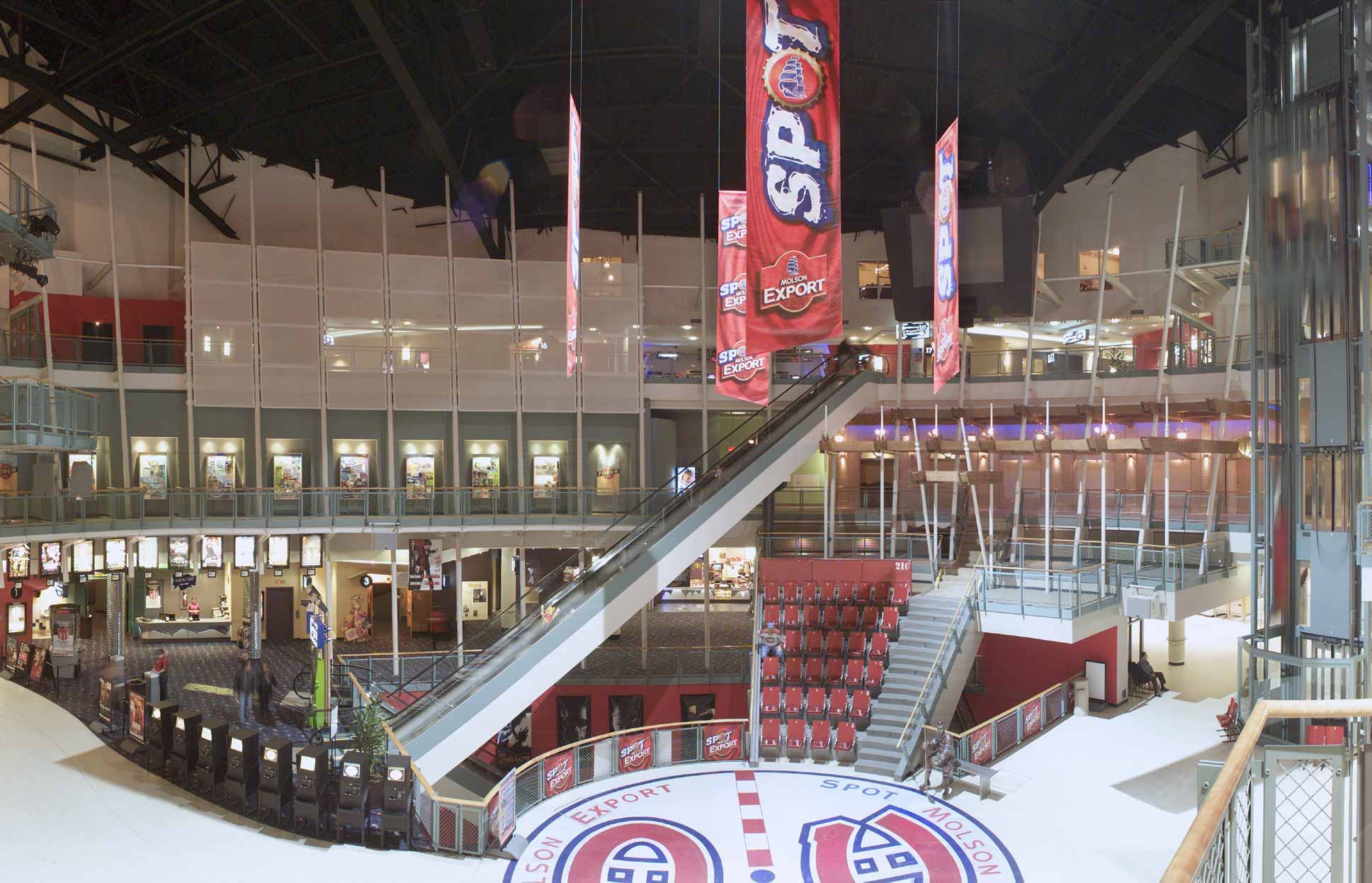 Reliance Construction Group Projects Montreal Forum