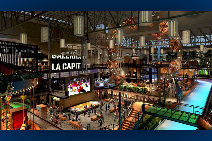 Groupe constructions reliance projets construction for Manege interieur montreal